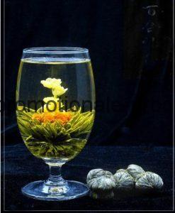 ceai verde cu ac de argint