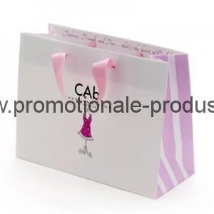 Pungi de hârtie promotionale lucioase