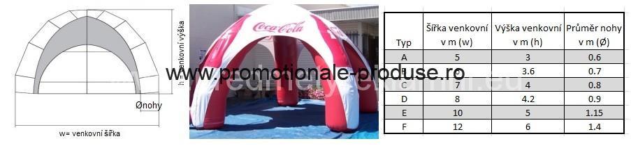 corturi gonflabile personalizate