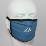 Masti respiratorii personalizate logo