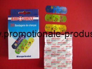 30 plasturi in cutie carton